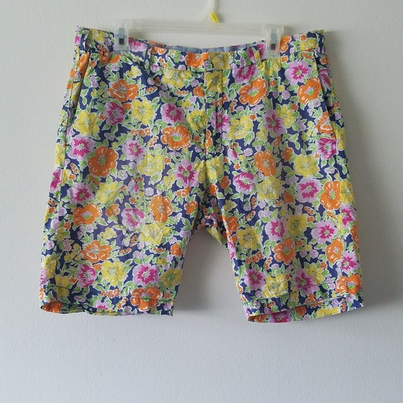 Ralph By Shorts Polo LaurenFloral Poplin DH29eIYWE